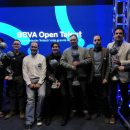 Foto: Finalistas del BBVA Open Talent 2018.